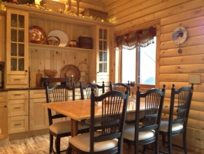 Log Home Style 3 Bdrm Townhome-Unit 3A- Available September to November 2019